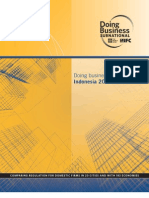World Bank Report - Doing Business in Indonesia