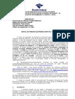 Edital Terceirizados SP - TAUBATÉ