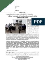 Boletín 068_e-Salud estrategia de fortalecimiento para la Salud Pública en el Cauca