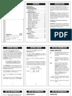 Carpentry Calc Manual