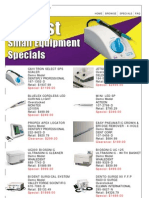 Outlet Center Specials for August 2012