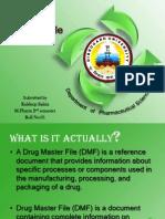 Seminar on Drug Master File