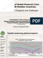 Impact Global Financial Crisis IDB Members
