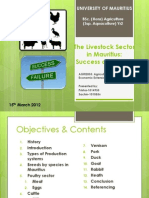 The Livestock Sector in Mauritius-Gp6