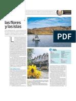 Titicaca Lago Flores e Islas