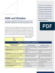 EMRs and Dictation - A winning combination that makes the most of your EMR while making the most of your physicians' time.