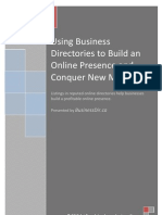Using Business Directories to Build an Online Presence and Conquer New Markets