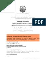 Programa Escalas y Perspectivas de análisis.