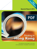 Publishing in Hong Kong, August 2012