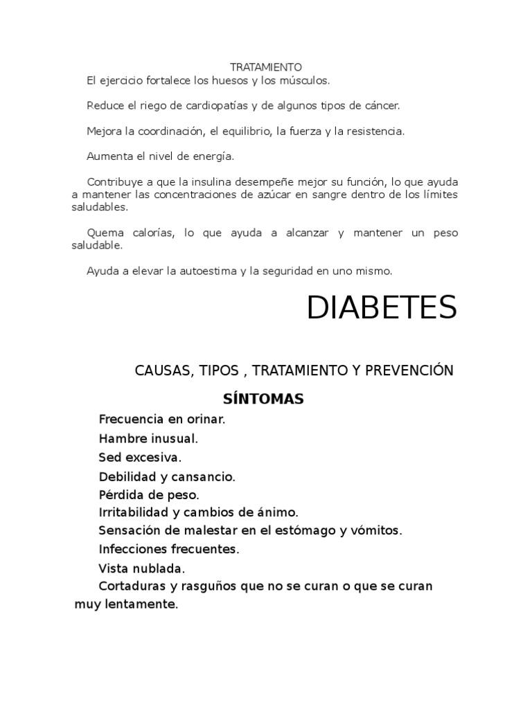 Niveles de diabetes de azúcar en la sangre tipo nn2
