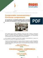 J2016 Ficha 12 - Comprometer conversaciones / Conversar compromisos