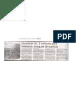 Nota Publicada en El Diario El Pueblo -25-08