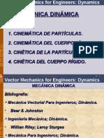 Cinemática de partículas