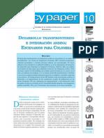 DESARROLLO TRANSFRONTERIZO