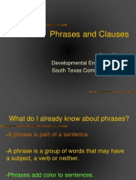 Phrases and Clauses Presentation.ppt