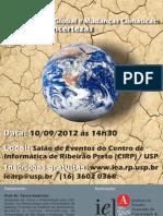 """IEA """"Aquecimento Global e Mudanças Climáticas"""""""