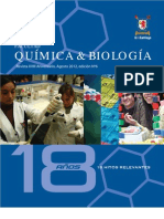 Revista 18 años, Facultad de Química y Biología