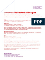 Fall 2012 3rd-7th BB Leagues Flyer