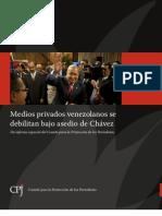 Situación de los medios privados en Venezuela