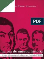 La voz de nuestra historia. El poder de la oratoria civil y religiosa en el Perú (siglos XVI-XIX)