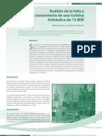 Analisis de Falla TH 15 MW Por Vibraciones