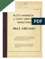 102579308 1944 PBM Mariner Flight Manual