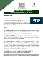 i Jornadas Derecho Ambiental - Cronograma(3)