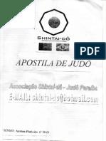 Apostila Mudança de Faixa -  Judo  -  Sensei Pinheiro - 001
