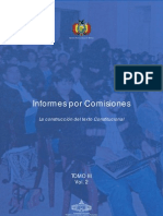 Tomo III. Informes por Comisiones (Volumen 2)