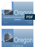Oregon Economic Forecast Presentation