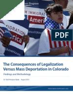 Deportation vs. Legalization in Colorado
