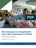 Deportation vs. Legalization in Florida