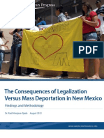 Deportation vs. Legalization in New Mexico