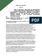 Directiva 004 de 2005