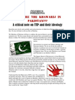 Who Are Khawarij in Pakistan? a crtiical note on TTP and their ideology