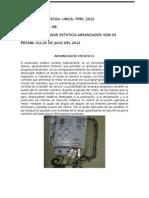 Arraque Estatico-Arrancador Ssw 03