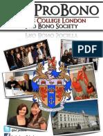 KCL Pro Bono Booklet
