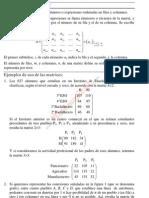 Matrices. Determinantes (Matemáticas CCSS II)