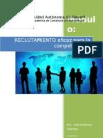 Apuntes Reclutamiento y Seleccion de Personal 2011 Corregido (Reparado)