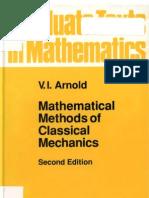 métodos matemáticos en la mecánica clásica