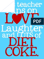 This Teacher Diet Coke