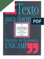 A Quarta Dimensao, os derivativos em um capitalismo com dominância financeira - IE - unicamp - TD 199