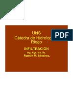 Infiltración-Clase modificada