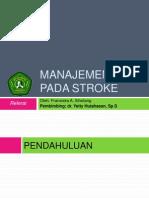 Manajemen Akut Pasien Stroke