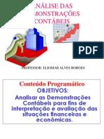 ANALISE DE BALANÇO- POWER POINT