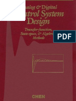 Controle - Analog and Digital Control System Design - Chen