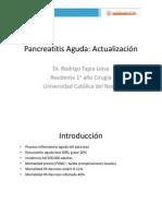 Actualización Pancreatitis Aguda