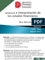Finanzas LAET Admon. Financiera Conceptos