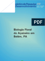 Biologia Floral Acaizeiro - Padilha