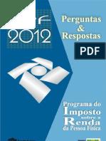 Perguntas e resposta Imposto de Renda   2012